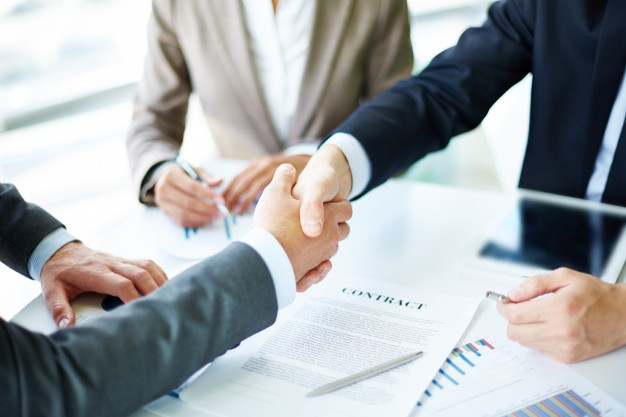 Commercial corporate law image